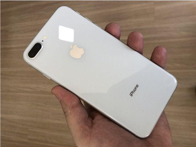 Apple Iphone 8 plus swap 64gb na cor Branco Top em Gyn