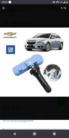 Sensor de bico Chevrolet calibragem de pneu