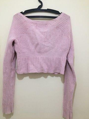 Suéter em tricô  - Foto 4