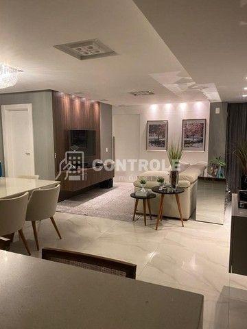 (R.O)Apartamento com 03 dormitórios, 02 vagas no Balneário do Estreito em Florianópolis. - Foto 2