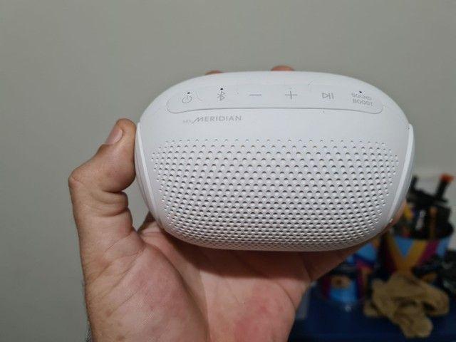 Caixa Bluetooth LG Xboom PL2 by Meridian. Novo. - Foto 2