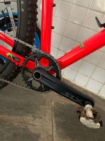 Bike Bicicleta Cannondale Trail 7 2020 c/ conjunto deore + slx - Foto 3