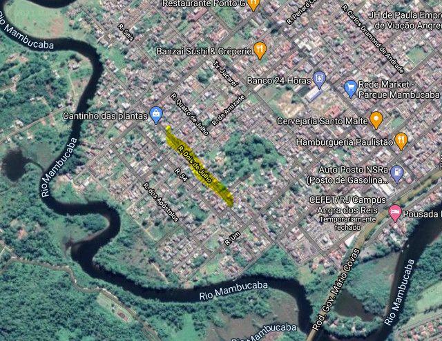 Terreno Plano Pereque Parque Mambucaba 75.000,00 350M²