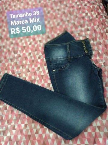 Calças jeans marca mix Promoção  - Foto 4
