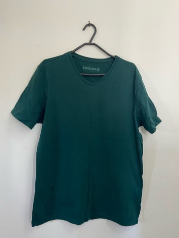4 Camisas Básicas: RENNER TAM: M - Foto 3
