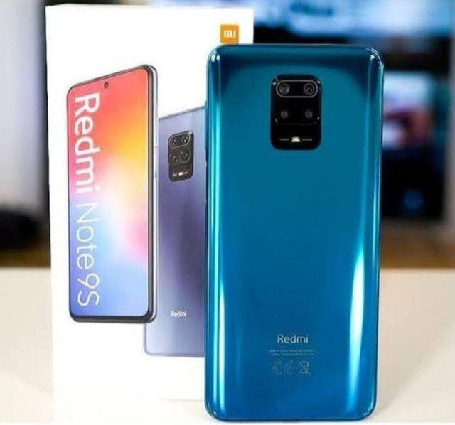 Note 9s, 64Gb, azul e preto. - Foto 2