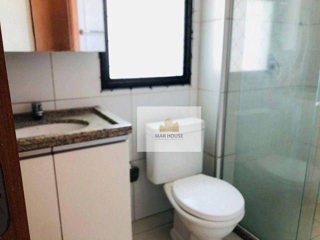 Apartamento com 3 dormitórios para alugar, 81 m² por R$ 3.500/mês - Boa Viagem - Recife/PE - Foto 17