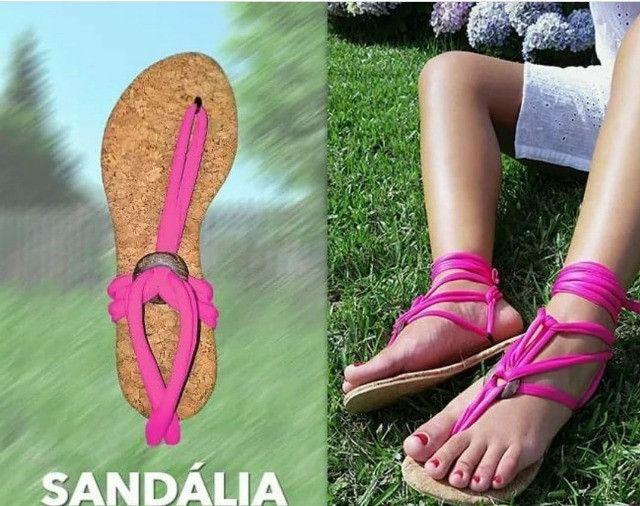 Calçados - Sandálias rasteiras - Foto 3