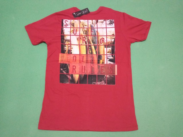 Camisa original Old Rules tamanho M