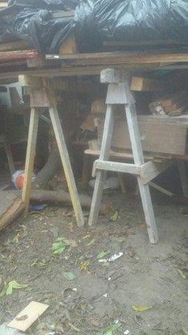 Cavaletes de obra usados - Foto 2