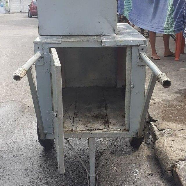 Vendo carrinho de churrasco - Foto 3