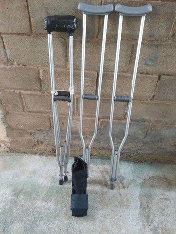 Alugamos e vendemos muletas e botas ortopédicas  - Foto 4