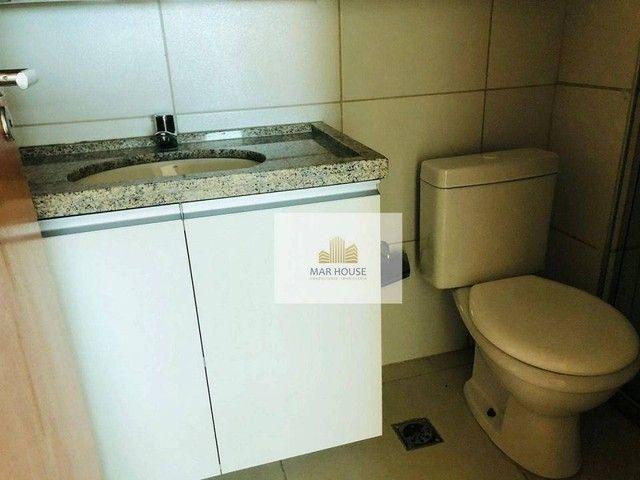 Apartamento com 3 dormitórios para alugar, 81 m² por R$ 3.500/mês - Boa Viagem - Recife/PE - Foto 14