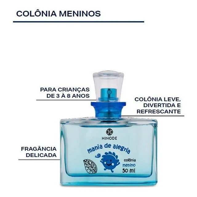 Mania de Alegria Menino Colônia 50ml - Foto 2
