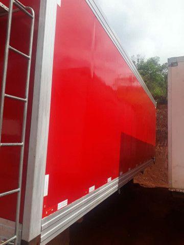 Baú frigorífico 7.50m motor a diesel - Foto 7