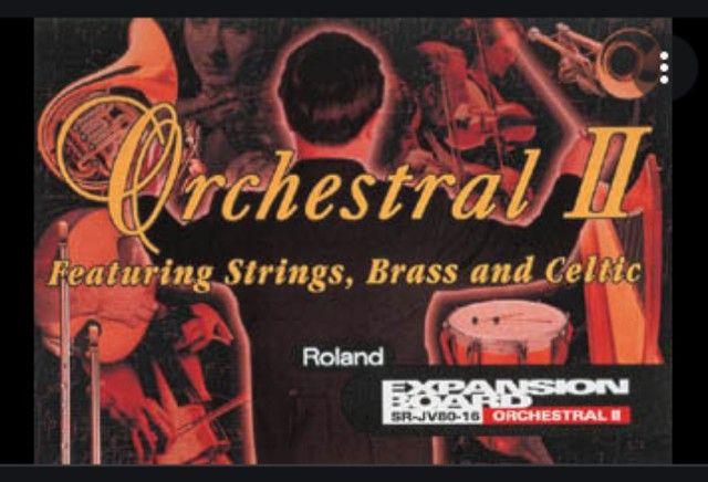 Placa De Expansão Roland Sr-jv80-16 Orchestral II - Foto 5
