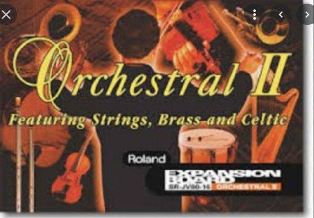 Placa De Expansão Roland Sr-jv80-16 Orchestral II - Foto 3