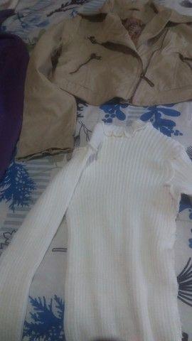 Lotinho de blusas de frio femeninas  - Foto 3