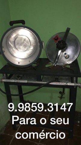 Fogão industrial e Panela de Pressão 30 Litros - Foto 5