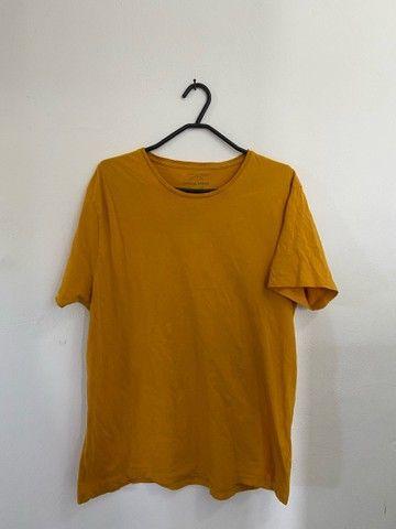 4 Camisas Básicas: RENNER TAM: M - Foto 5