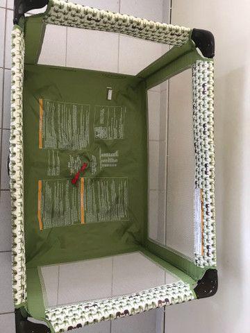 Berço portátil GRACO + colchão ortobom selado  - Foto 2