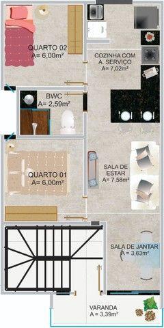 Apartamento novíssimo em Porto de Galinhas- Área urbana - Oportunidade!! - Foto 2