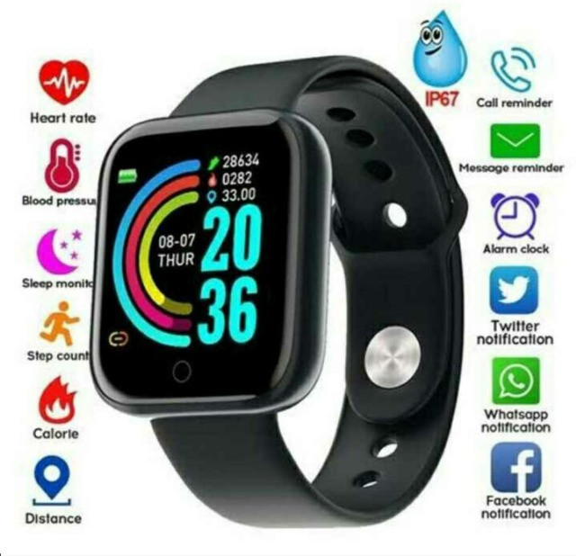 Relogio smartwatch d20