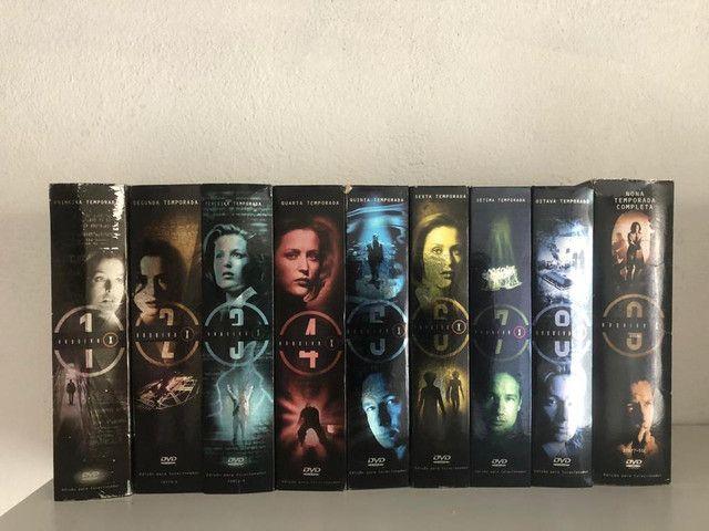 DVD Box Arquivo X - 1ª A 9ª Temporada- 3 Discos