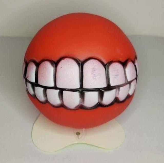 Bolinha Com Dentes Para Cachorro - Sorriso Pet - Foto 5