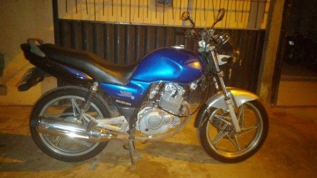 Vendo uma moto Suzuki para interior  - Foto 3
