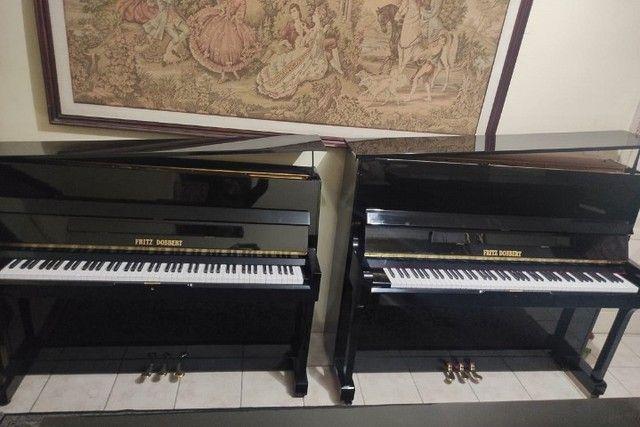 CasaDePianos Salão Vendas Pianos Fritz Dobbert Tops Acesse Site CasaDePianos  - Foto 6