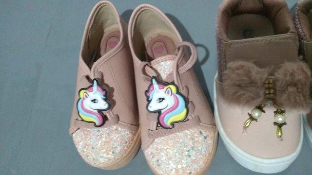 Sapatos infantil menina
