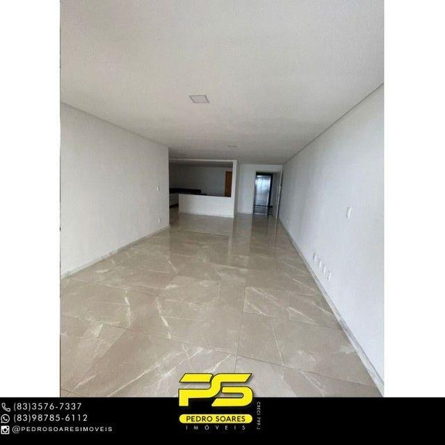 Apartamento com 3 dormitórios para alugar, 190 m² por R$ 6.200/mês - Altiplano Cabo Branco - Foto 6