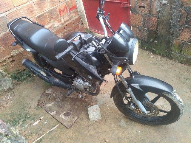 Moto Yamaha Ybr Factor 125 ED 2009 toda em dia e placa Mercosul (LEIA A DESCRIÇÃO) - Foto 9