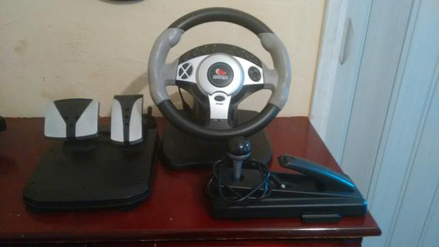 Volante gamer ps2,ps3,pc