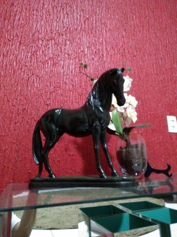 Cavalo de metal , decorativo de mesa