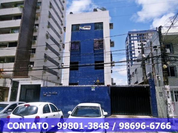 Apto. em Boa Viagem 3 qts. sl em L, area de serviço , 2 WCs, 70m², 500m Shopping Recife