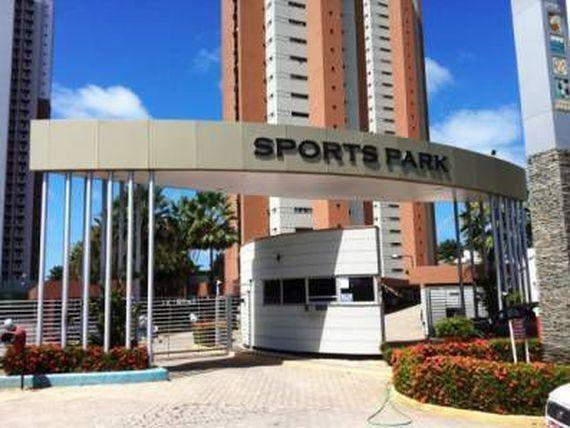 Sport parque Cobertura em ponta negra com vista mar