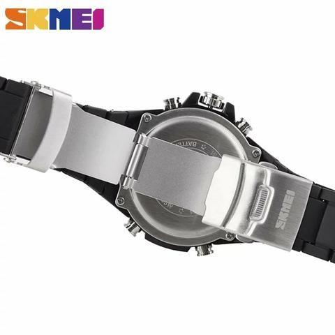 3afebb2c55c Relógio skmei original a prova d água novo digital e analógico ...
