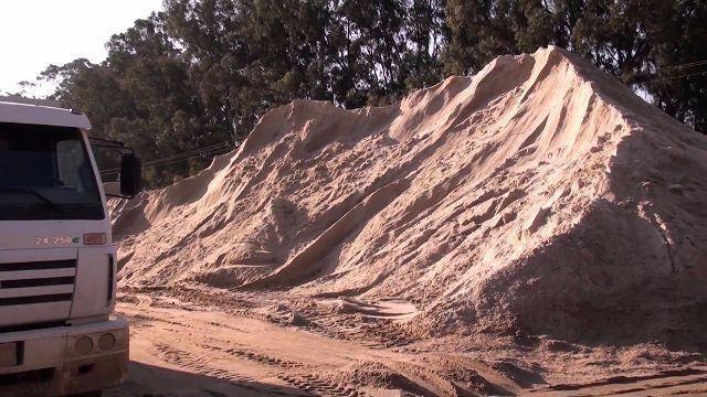 Areia Lavada - Entrega Imediata - Aceitamos Cartoes - Foto 2
