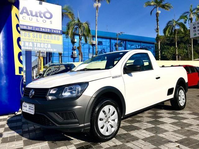 Volkswagen Saveiro 1.6 Msi Robust Cs 8v Flex 2p Manual 2018 em Joinville
