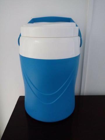Garrafa Botijão Supercooler Azul 8 Litros Soprano - Foto 2