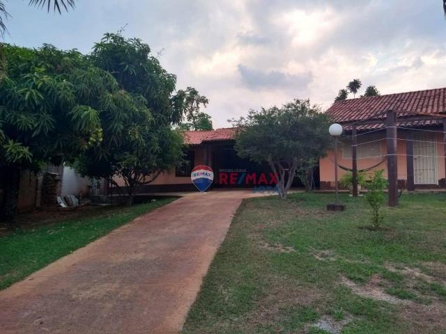 Casa com 2 dormitórios à venda, 400 m² por r$ 650.000 - setor habitacional arniqueiras - á