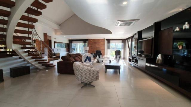 Casa com 4 dormitórios à venda, 506 m² por r$ 2.300.000,00 - lomba grande - novo hamburgo/ - Foto 16