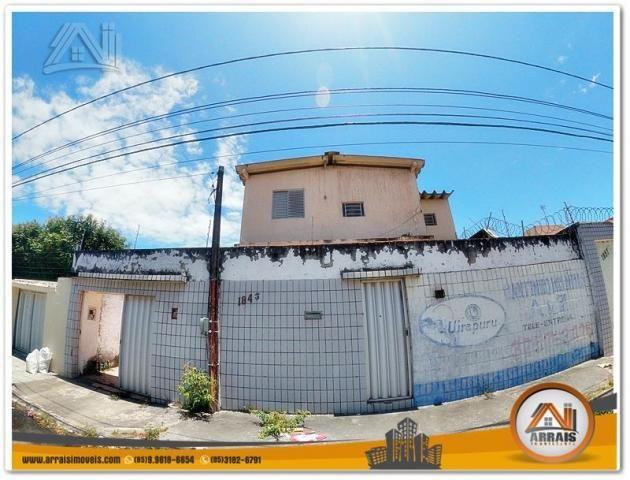 Terreno à venda, 396 m² por R$ 500.000,00 - Vila União - Fortaleza/CE