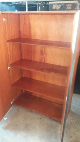 Vendo armario de escritório em madeira - Foto 2
