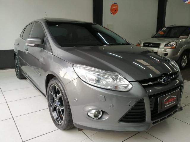 Focus sedan titanium plus 2.0 flex automatico/completo!!!!!