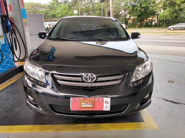 Corolla 1.8 xei 2009 flex unico dono