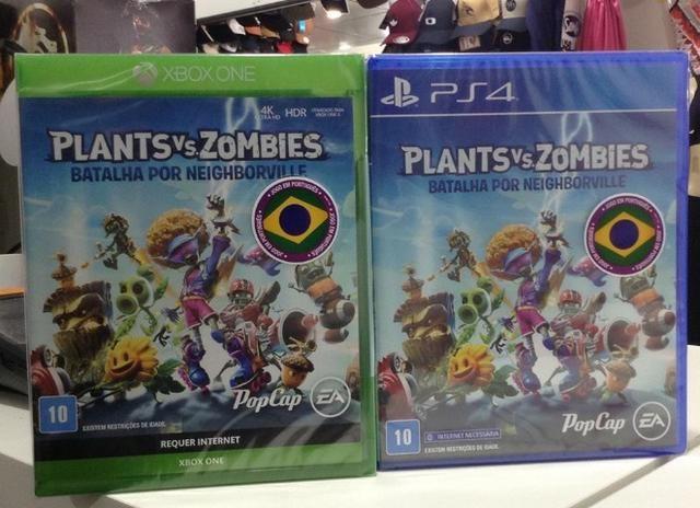 Plants vs Zombies 3 Batalha por neighborville Ps4 xbox one. Dê seu jogo e ganhe descontos