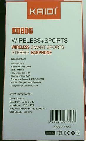 Fone wireless Kaidi - Foto 2